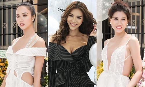 Dàn sao Việt diện váy trễ vai, khoét eo đi sự kiện