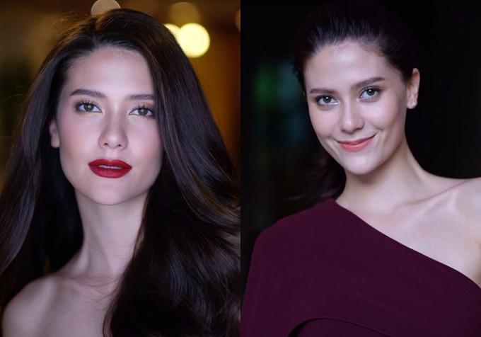 Vẻ đẹp lai của tân Hoa hậu Hoàn vũ Thái Lan