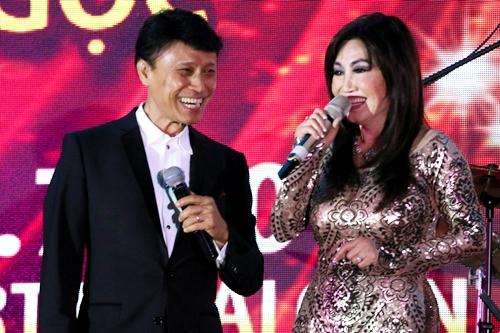 Thanh Lan và Tuấn Ngọc lần đầu hát ở Việt Nam sau 25 năm.