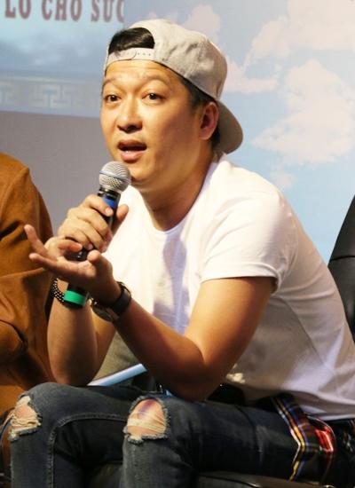 Trường Giang tham gia buổi ra mắt game show Thiên đường ẩm thực.