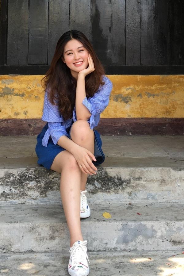 Nữ sinh Cảnh sát thi Hoa hậu Hoàn vũ Việt Nam