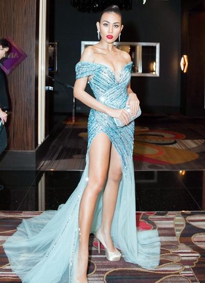 Người mẫu Diệu Huyền tái xuất sau thời gian sinh con.
