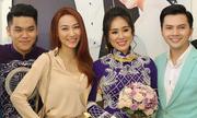 Đồng nghiệp dự tiệc cưới Lê Phương ở Trà Vinh
