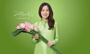 Kim Tae Hee lần đầu diện áo dài Việt Nam