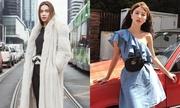 Túi đeo hông chục triệu đồng tăng vẻ sành điệu cho sao Việt