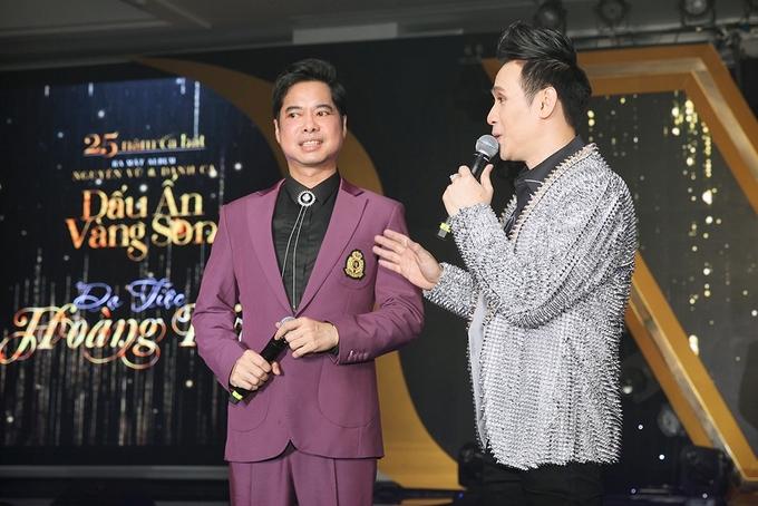 Dàn sao dự tiệc 25 năm ca hát của Nguyên Vũ