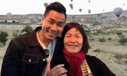 Nguyên Khang đưa mẹ du lịch Thổ Nhĩ Kỳ