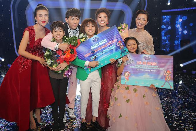 Thiên Khôi đoạt quán quân Vietnam Idol Kids 2017