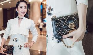 Linh Nga khoe túi Dior 74 triệu đồng