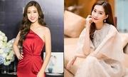 Hoa hậu Mỹ Linh gợi cảm, Thu Thảo kín đáo trong sự kiện