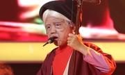 Bé 7 tuổi hóa cụ già hát xẩm khiến Xuân Bắc 'mất kiểm soát'