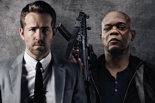 Ryan Reynolds, Samuel L. Jackson tung hứng trong 'Vệ sĩ sát thủ'