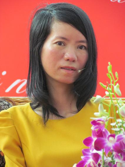 Dịch giả, nhà văn Nguyễn Bích Lan. Ảnh: Đạt Ma.