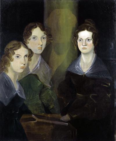 Chân dung chị em nhà Bronte qua bức vẽ của anh trai - Branwell. Từ trái qua: Anne, Emily và Charlotte Bronte. Ảnh: Corbis.