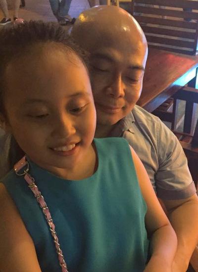 Bố của con gái Phương Thanh.