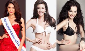 Nhan sắc đại diện Việt Nam tại Hoa hậu Quốc tế qua các năm