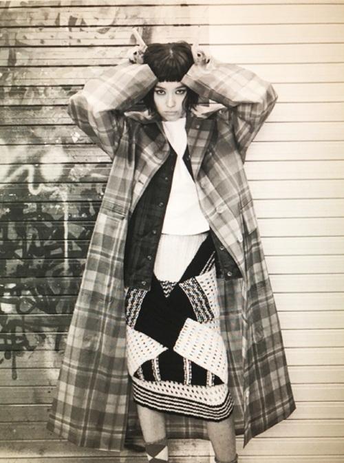 <p> Hình ảnh nổi loạn của cô trên tạp chí danh tiếng xứ Hàn.</p>