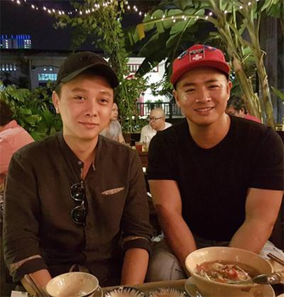 Nhà thiết kế Nguyễn Công Trí và Hùng Văn Ngô.