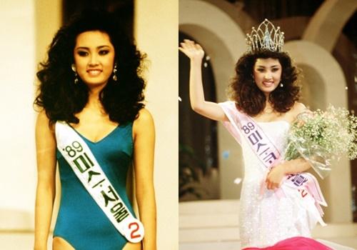 Oh Hyun Kyung đăng quang Hoa hậu Hàn Quốc khi mới 19 tuổi.