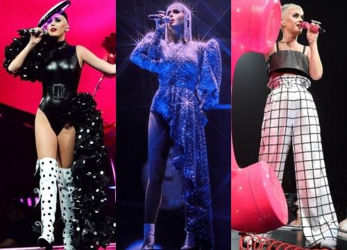 Ba bộ trang phục Công Trí thiết kế cho Katy Perry.