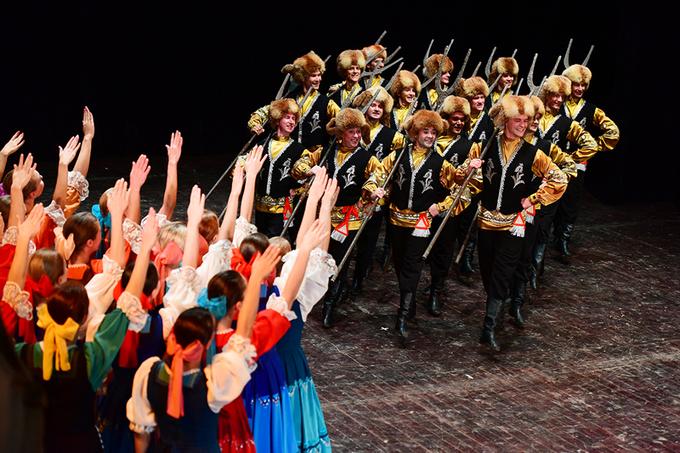 Vẻ đẹp văn hóa dân gian Nga trên sân khấu thủ đô