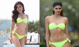 Huyền My và dàn mỹ nhân Miss Grand diễn bikini ở Phú Quốc