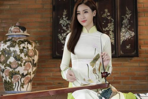 Mỹ Linh sẽ thi chơi đàn bầu tại Miss World.