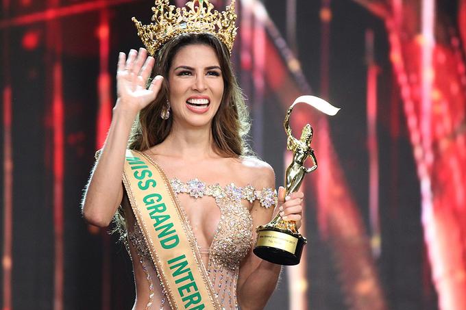 Vẻ đẹp Mỹ Latin của Hoa hậu Hòa bình Quốc tế 2017