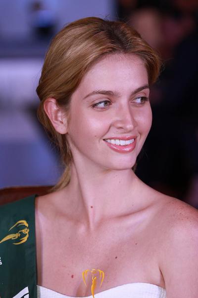 Hoa hậu Puerto Rico, một trong những ứng viên cho ngôi hoa hậu.