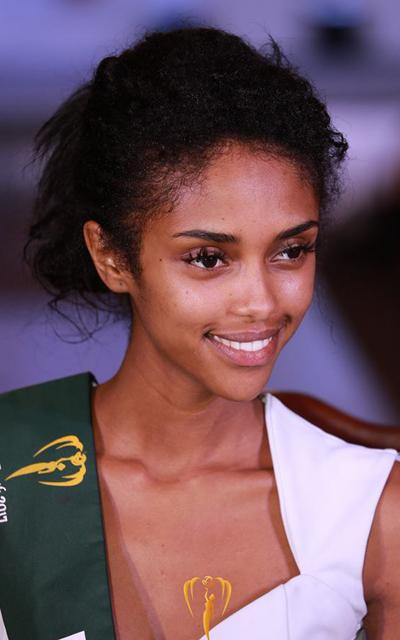Mặt mộc của người đẹp Ethiopia.