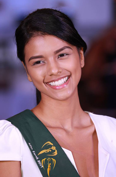 Hoa hậu Ecuador.