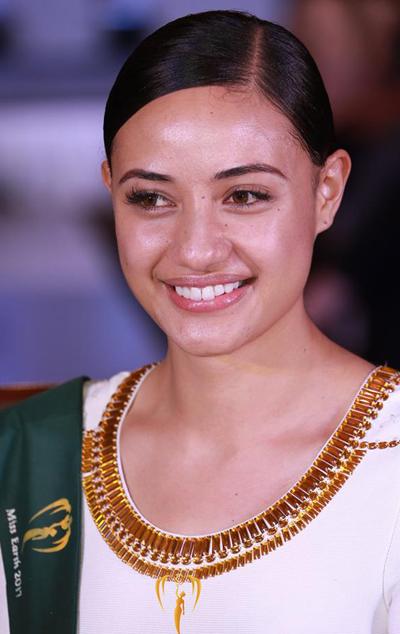 Hoa hậu Tonga.