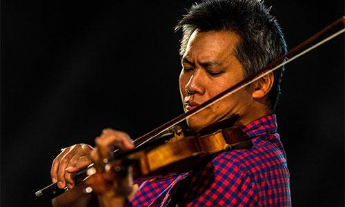 Nghệ sĩ vĩ cầm Phạm Vinh.
