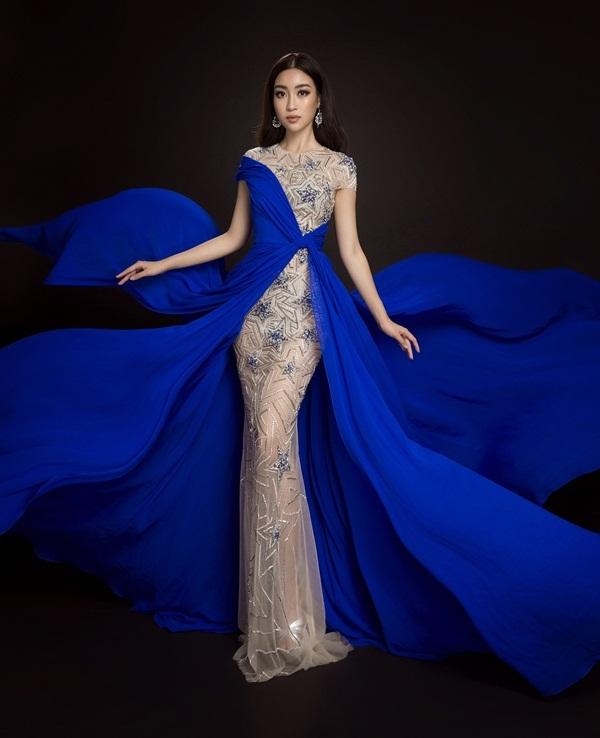 Ba đầm dạ hội hoa hậu Mỹ Linh mang đến Miss World