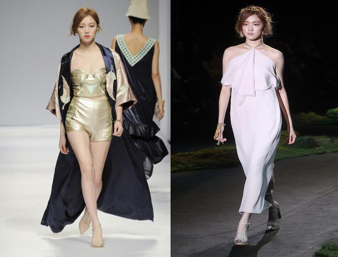 <p> Lee Sung Kyung hiện đầu quân cho công ty quản lý YG - nơi các nghệ sĩ nổi tiếng G-Dragon, Psy, Kang Dong Won, Choi Ji Woo, Lee Jong Suk... đang hoạt động. Cô thường được mời biểu diễn cho nhiều thương hiệu đình đám như Chanel, Prada, Vivienne Westwood, Vera Wang...</p>
