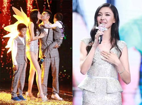 Vương Lôi Lôi trong chương trình Mamma Mia bản Trung Quốc.