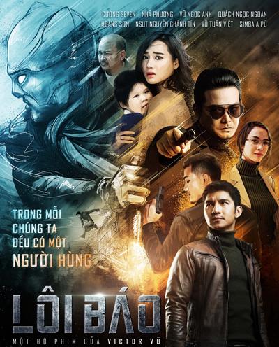 Poster chính thức của phim vừa được nhà sản xuất giới thiệu.