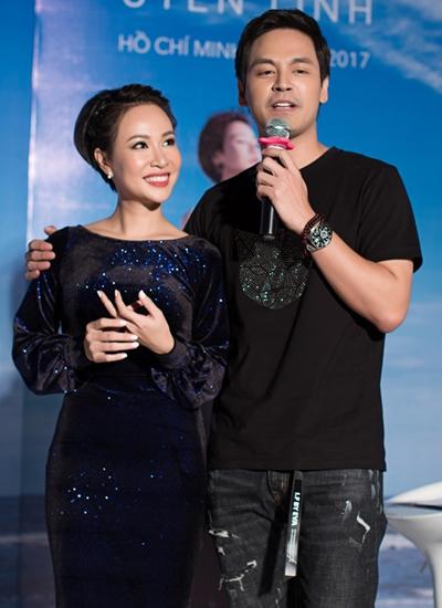 MC Phan Anh - người từng dẫn chương trình Vietnam Idol 2010 - là bạn thân Uyên Linh hiện tại.