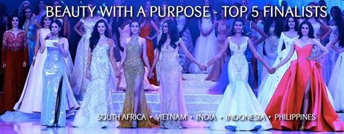 Mỹ Linh vào Top 5 'Người đẹp nhân ái' tại Miss World