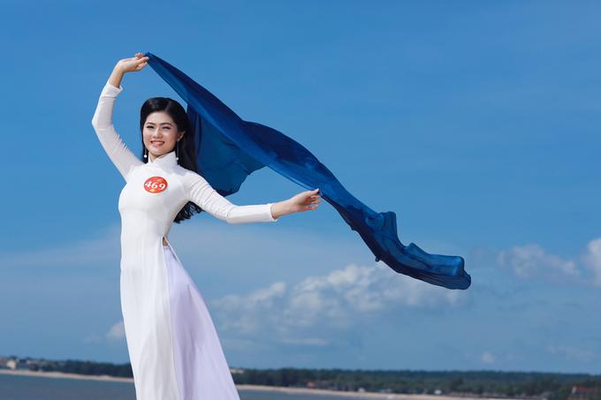 Nhan sắc của Hoa khôi phụ nữ Việt Nam qua ảnh 2017