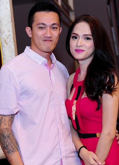 Criss Lai, người yêu gốc Việt, là người đàn ông gần đây nhất Hương Giang công khai tình cảm.