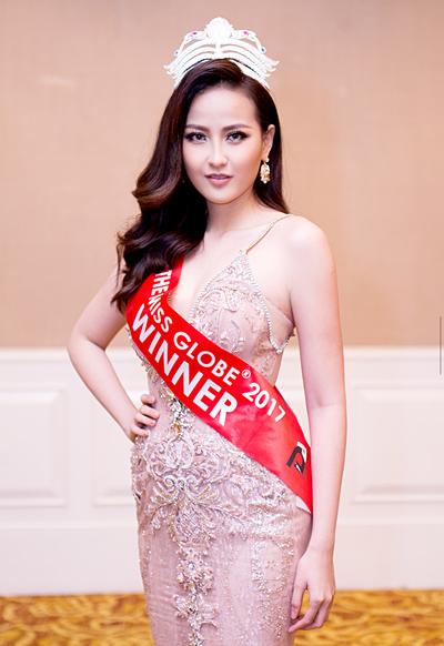 Hoa hậu Khánh Ngân.