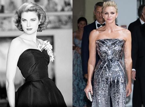 Nữ hoàng Grace Kelly và công nương