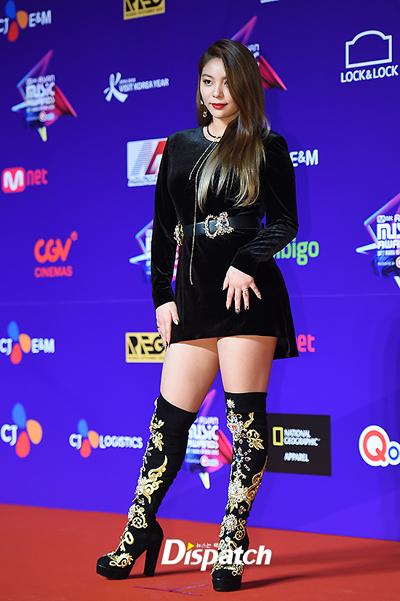 Ca sĩ Ailee.