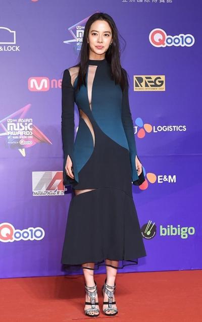 Diễn viên Song Ji Hyo.