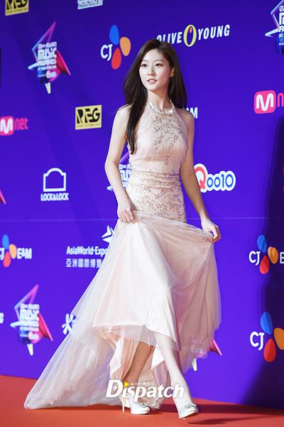 Diễn viên Kim Seon Ron.