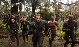 Trailer 'Avengers: Infinity War' bùng nổ toàn cầu tuần qua