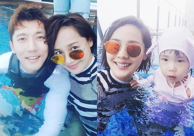 """<p> Theo <em>Daum</em>, Eugene và Ki Tae Young là cặp """"phim giả tình thật"""" được yêu mến của làng giải trí xứ Hàn.Trên trang cá nhân, cặp sao thường chia sẻ những khoảnh khắc hạnh phúc.</p>"""