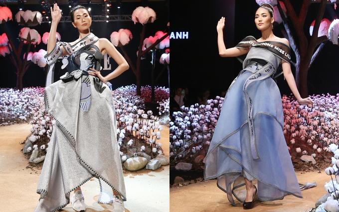 Võ Công Khanh châm biếm cuộc thi hoa hậu ở show thời trang