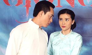 Cao Thái Hà đóng vai người vợ thủ đoạn trong phim 'Giông bão'